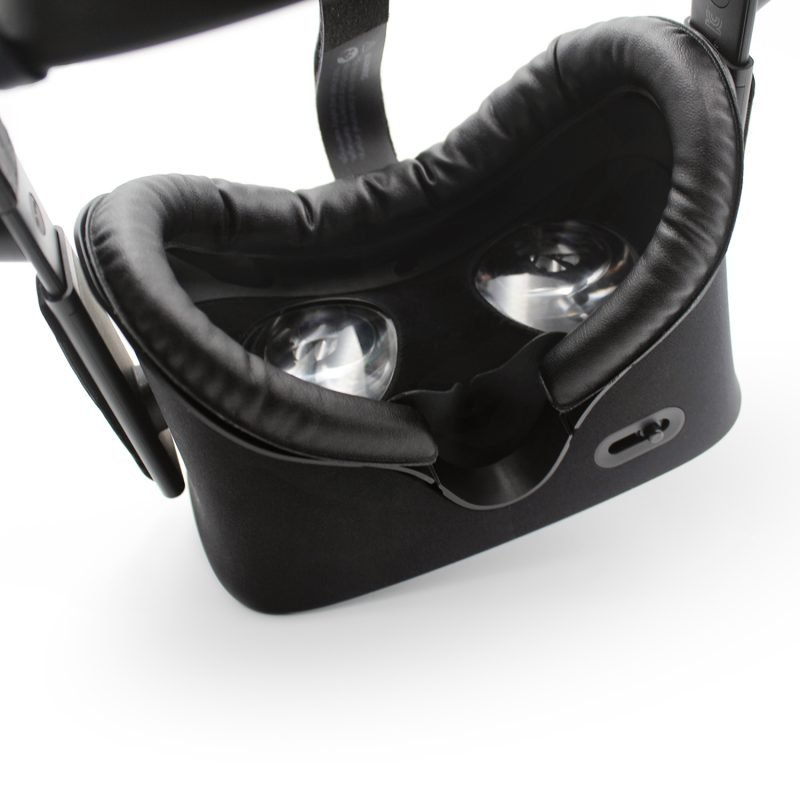 oculus rift cv1 leather face